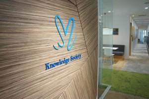 東京のバーチャルオフィス、ナレッジソサエティのロゴ