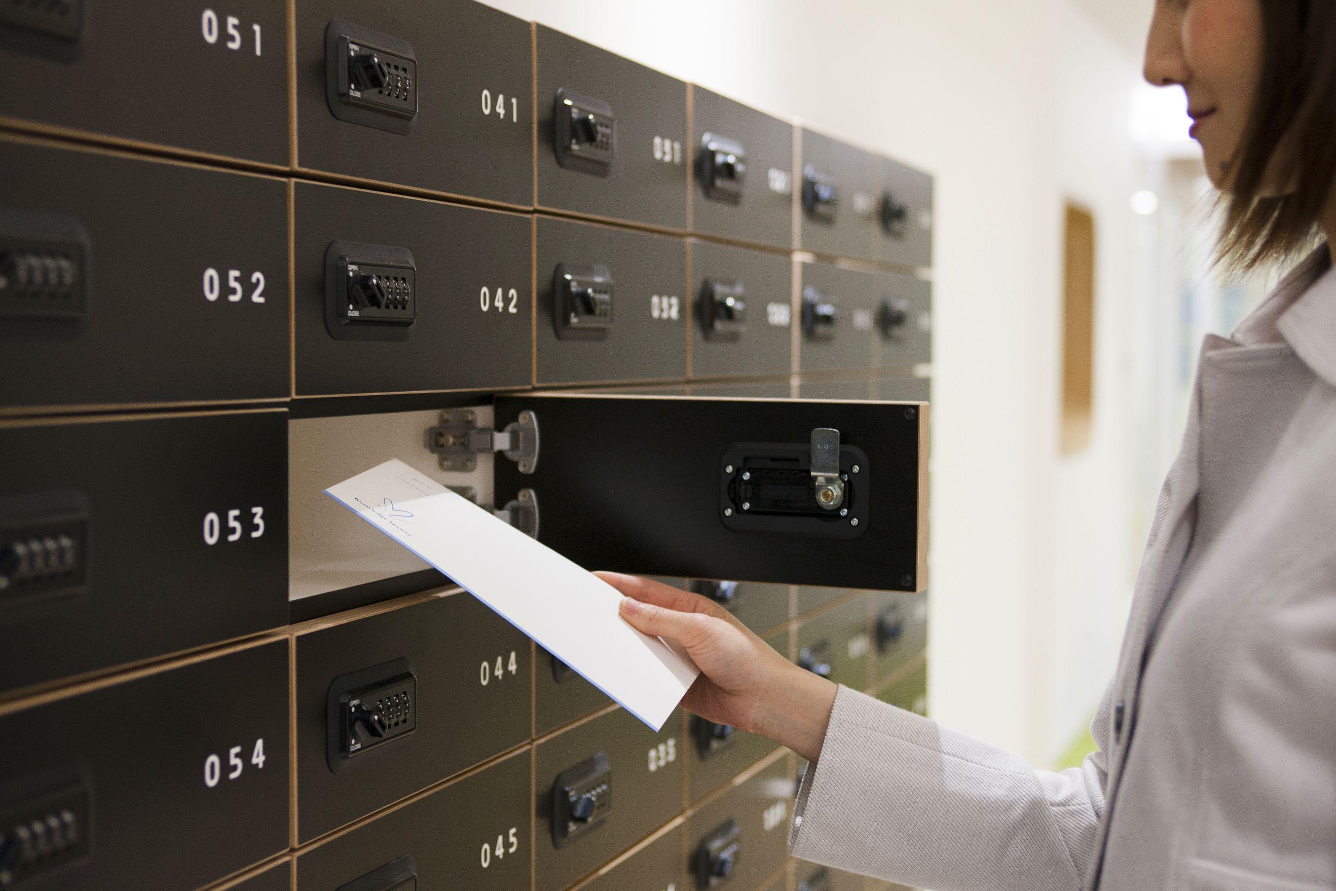 バーチャルオフィスの私書箱
