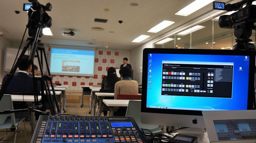 東京のコワーキングスペースで開催された起業セミナーの撮影