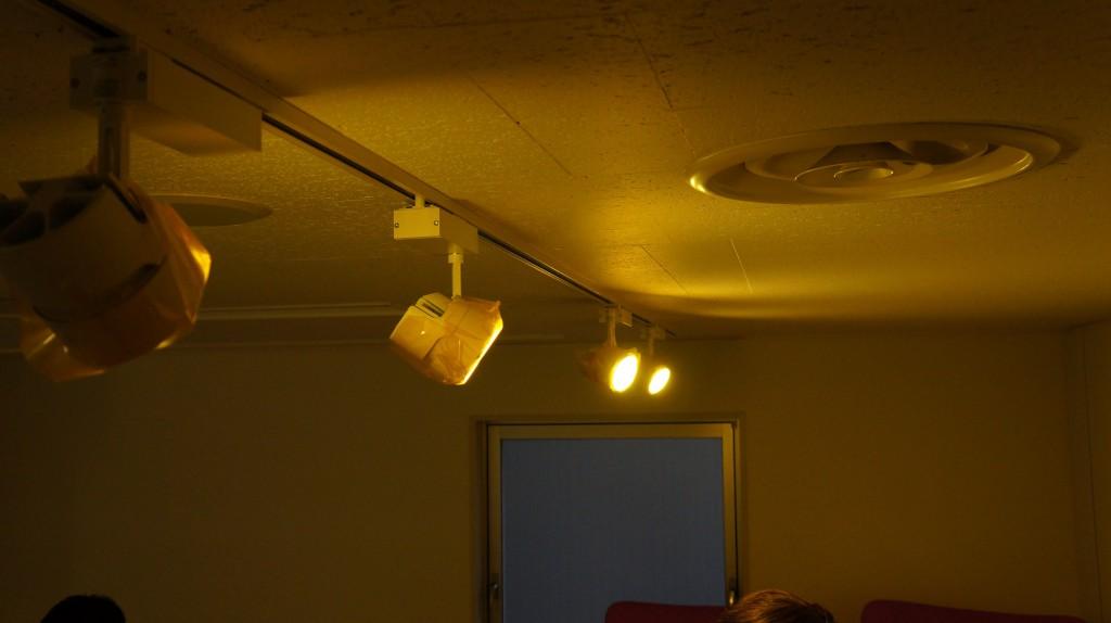 コワーキングスペース 照明