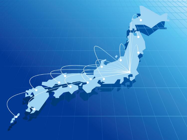 シェアオフィスで東京本社と地方支社