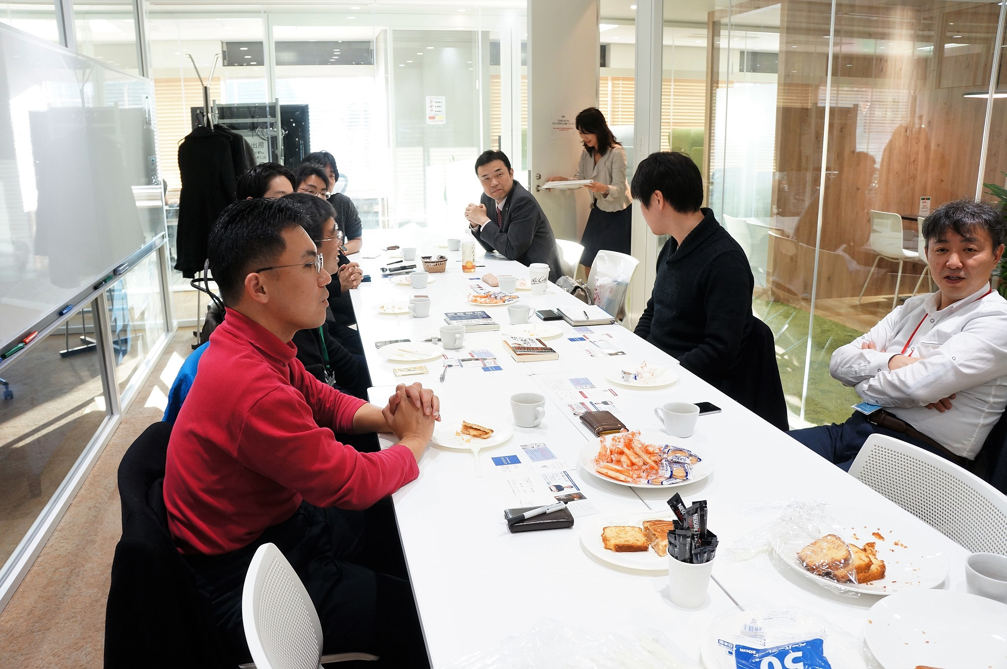 お茶会 東京交流会 異業種交流会 バーチャルオフィス シェアオフィス レンタルオフィス