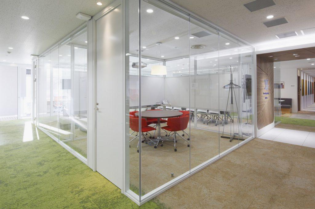 九段下の会議室