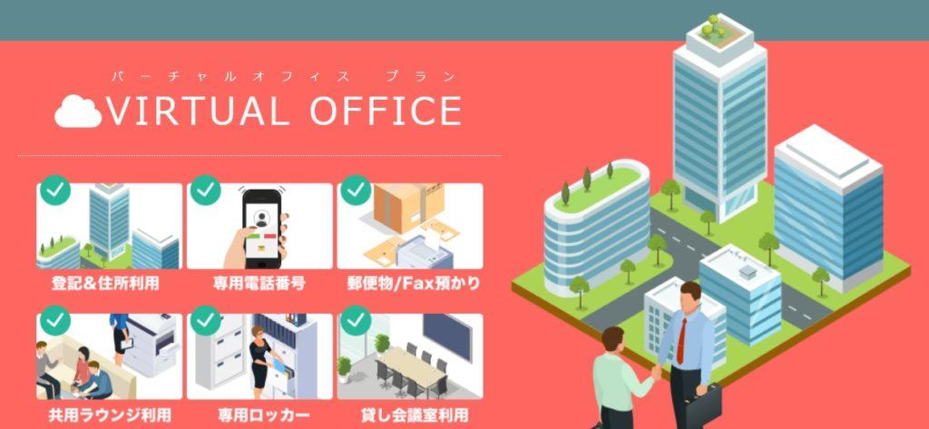 バーチャルオフィス 10番オフィス