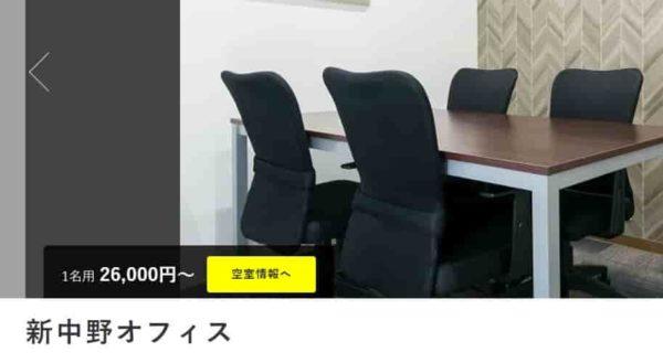 レンタルオフィス BIZcircle新中野