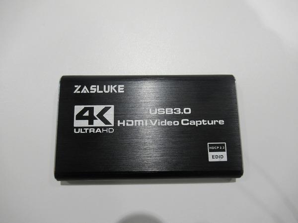ZasLukeのHDMIビデオキャプチャカード